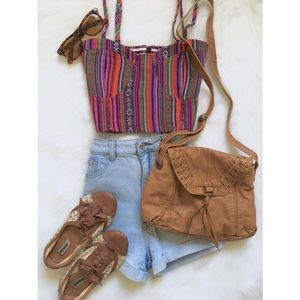 Tops - Aztec Print Top